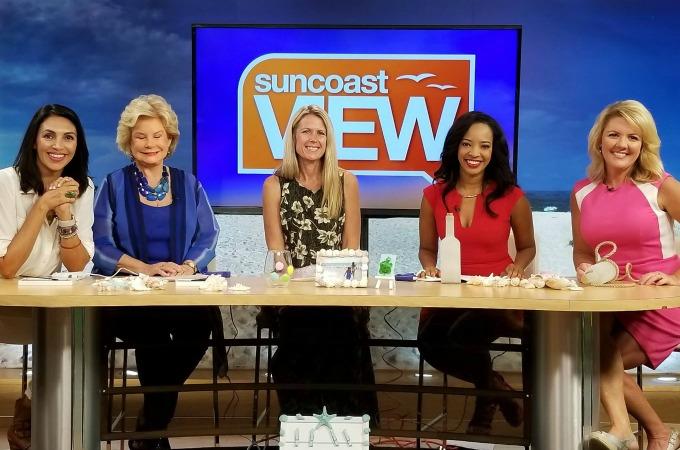 Recent media appearances include Sarasota's Suncoast View