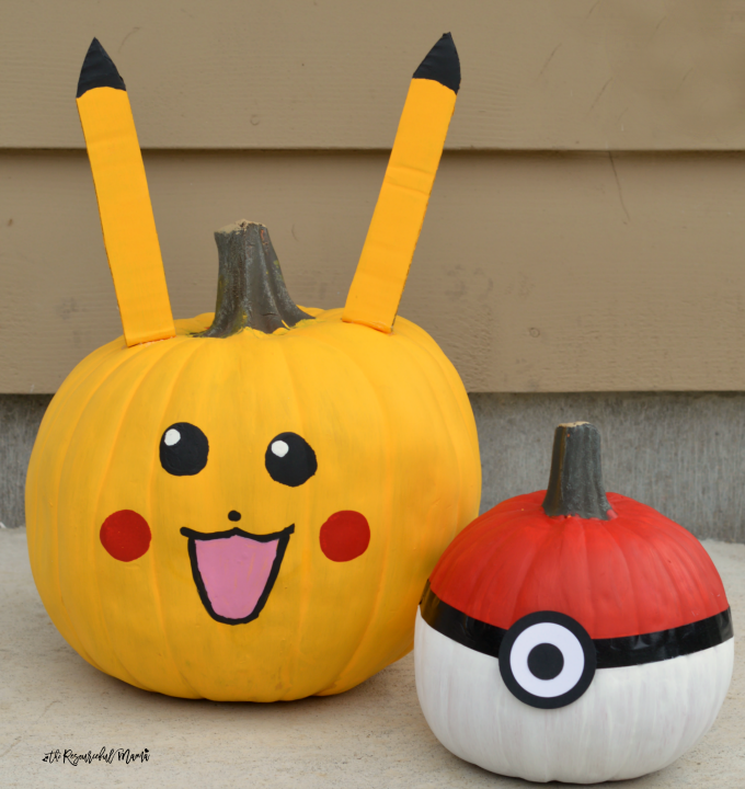 Pokemon No Carve Pumpkins