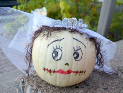 Bride No Carve Pumpkins