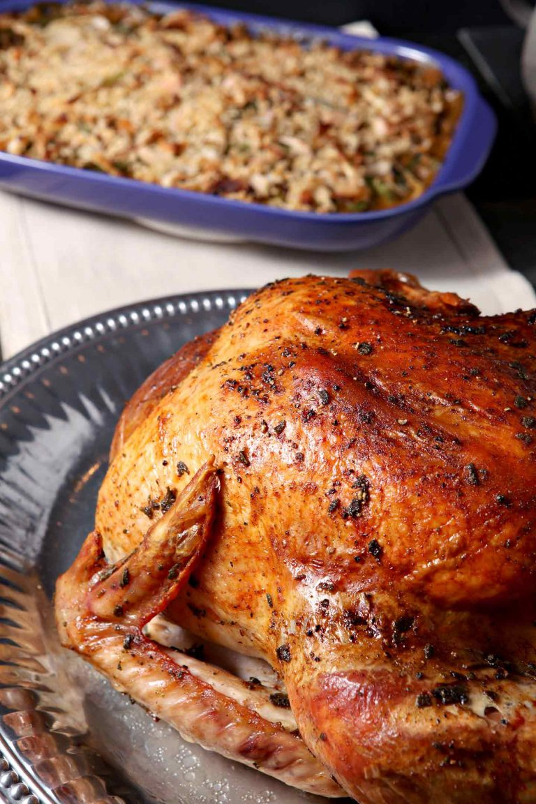 Thanksgiving turkey recipes - Brown Butter Sage Turkey