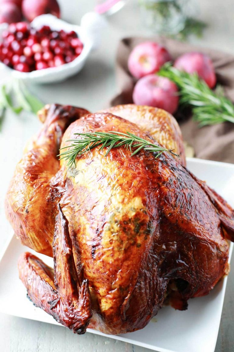 Thanksgiving turkey recipes - Lemon, Apple and Herb Turkey