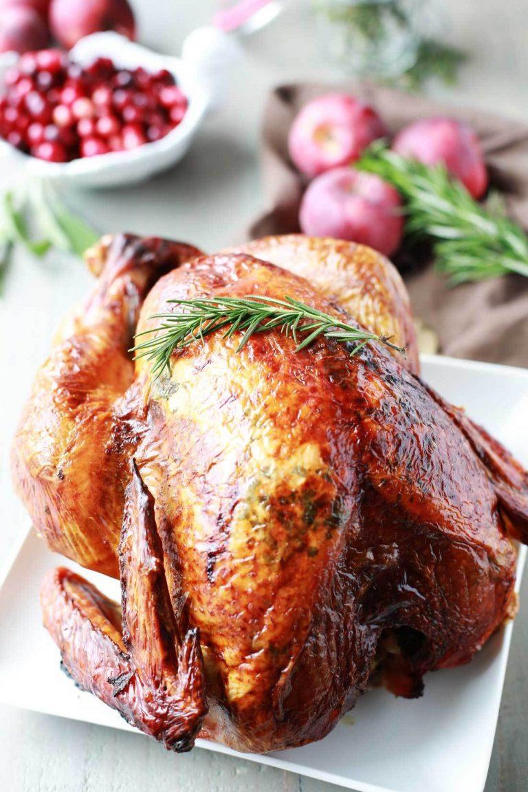 Thanksgiving turkey recipes - Lemon, Apple and Herb Turkey