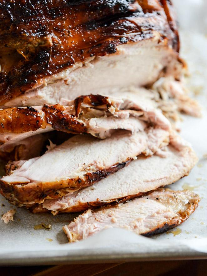 Thanksgiving turkey recipes - Applewood smoked turkey
