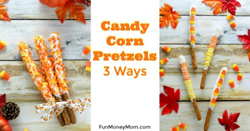 Candy Corn Pretzels facebook