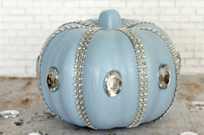 Beautiful No-Carve Cinderella Pumpkin