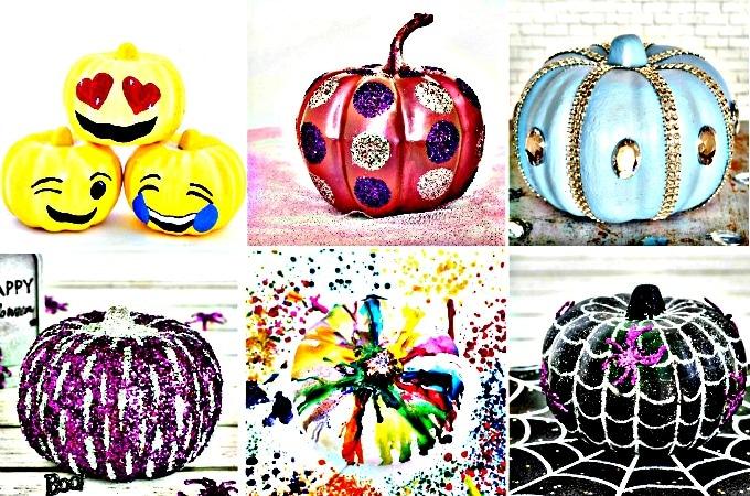 No Carve Pumpkin Ideas feature