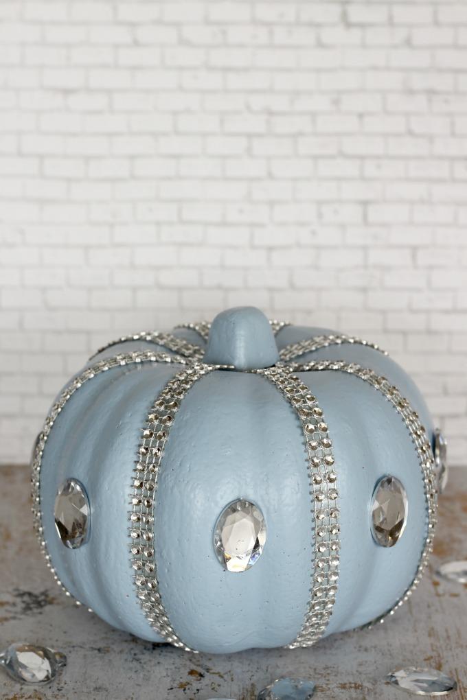 My girls love this no carve Cinderella pumpkin