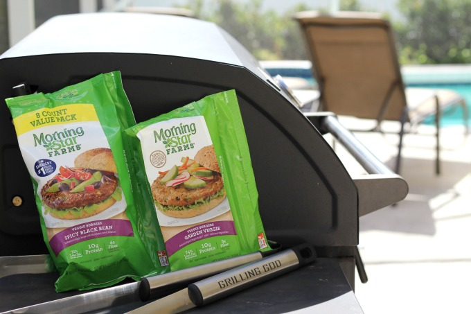 MorningStar Farms Veggie Burgers are perfect for grilling out