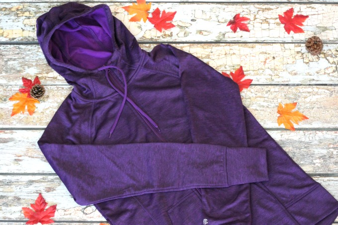 This fleece will keep you cool in the fall weather