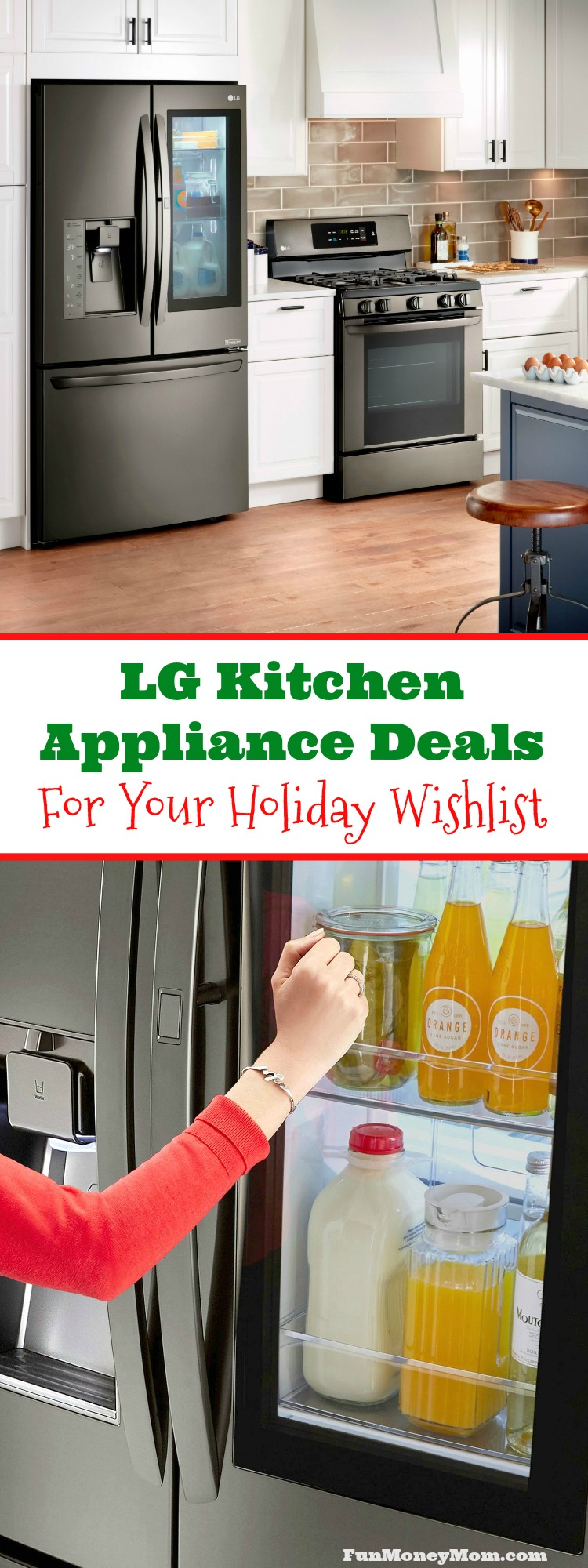 It's always fun to get new kitchen appliances, right? If you have new appliances on your holiday wishlist, you're going to want to check out these awesome LG kitchen appliance deals.