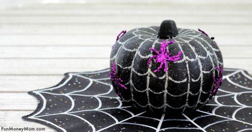 Spiderweb pumpkin