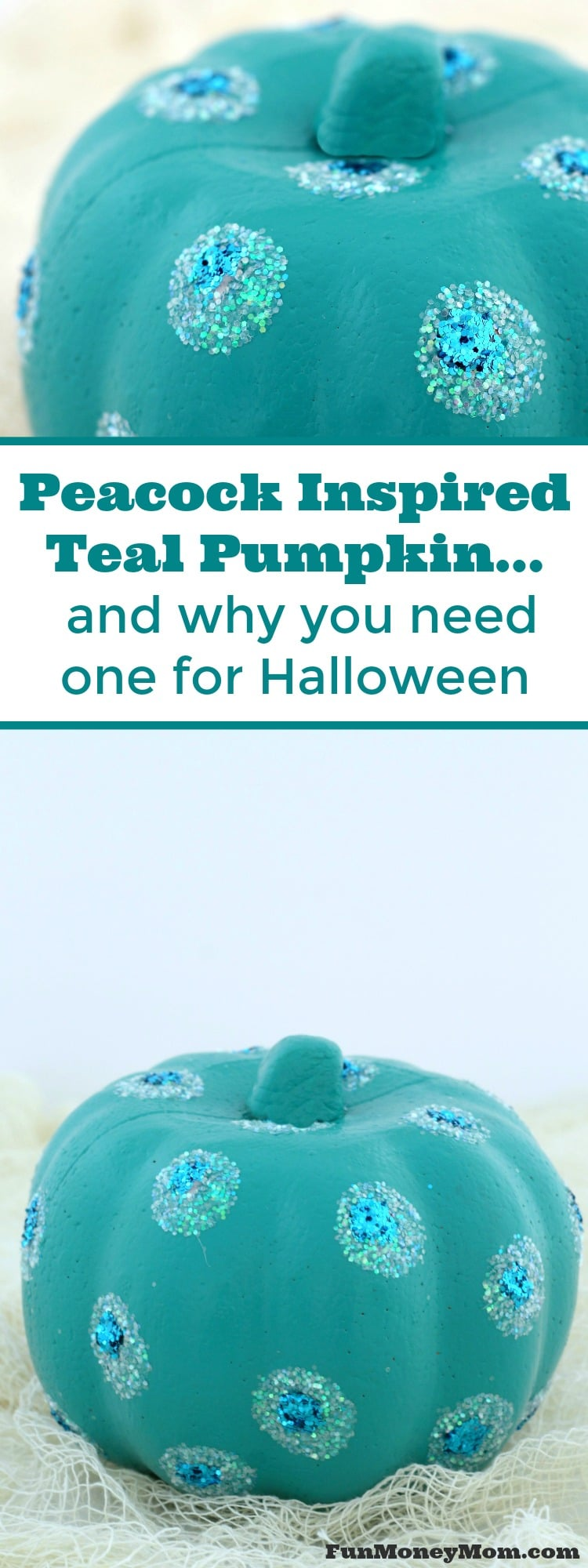 Decorating pumpkins can be fun, but they can serve an important purpose too. Find out how you can help children by making a teal pumpkin for your porch on Halloween.