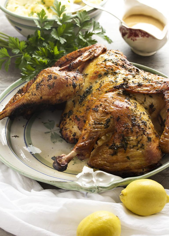 Thanksgiving turkey recipes - Tuscan Style Turkey