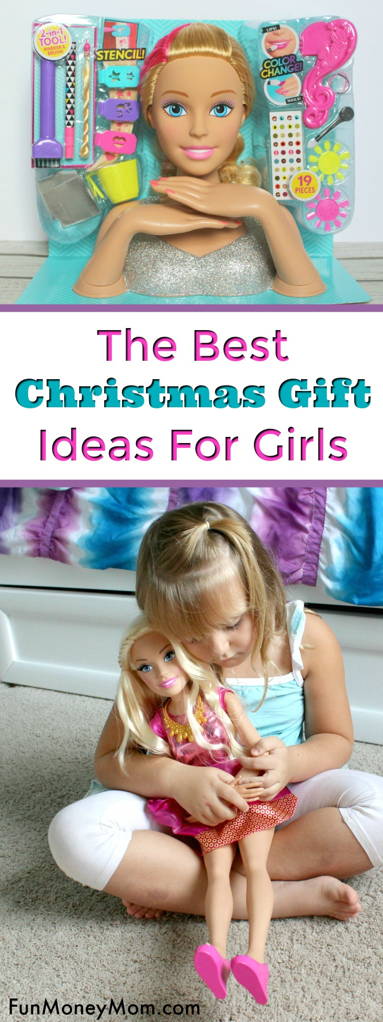 Looking for gift ideas for girls? You can never go wrong with Barbie gifts and these Christmas gifts will always bring a squeal of delight!