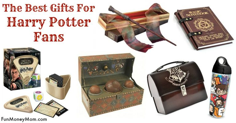 Best Gifts For Harry Potter Fans Fun Money Mom