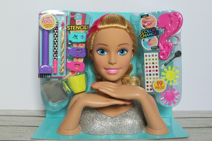 If you're looking for great gift ideas for girls, you can't go wrong with this Barbie styling head.