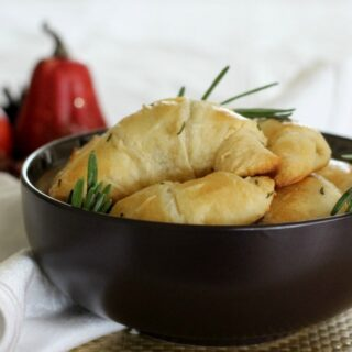 Rosemary Parmesan Crescent Rolls