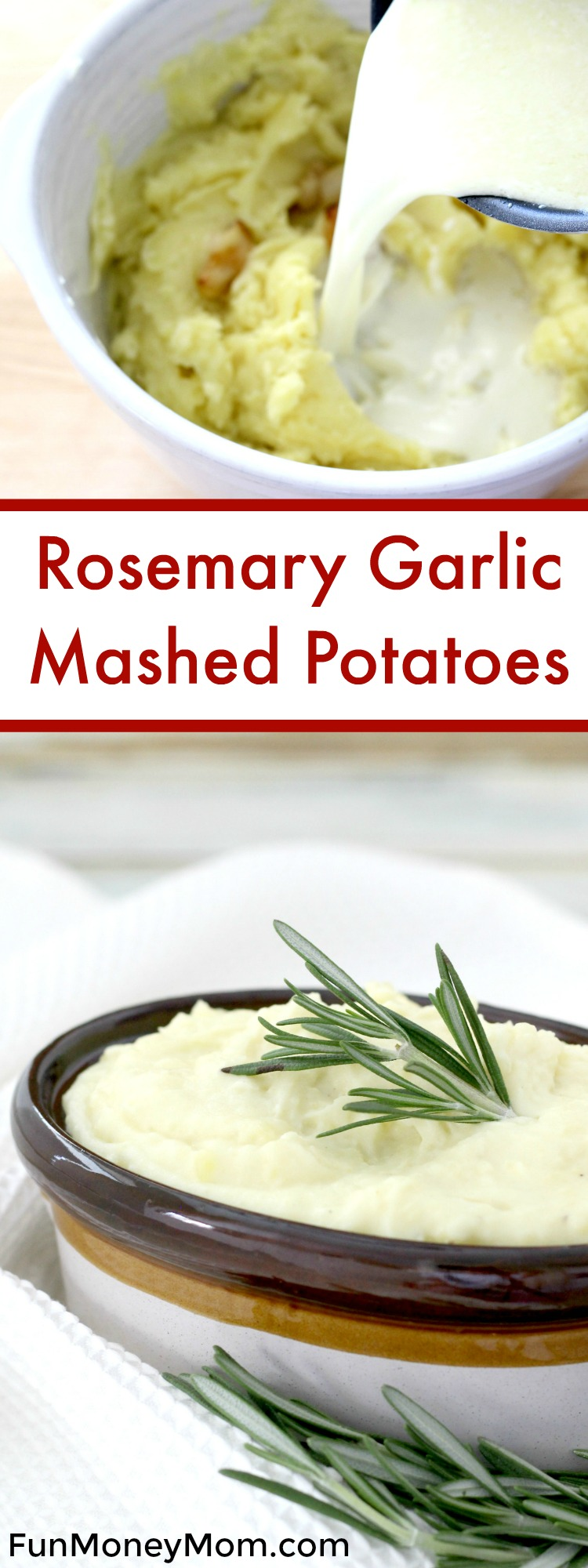 Rosemary Garlic Mashed Potatoes Pinterest