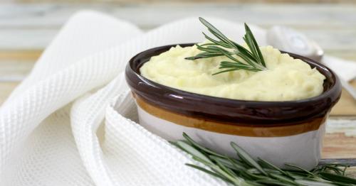 Rosemary Garlic Mashed Potatoes fb