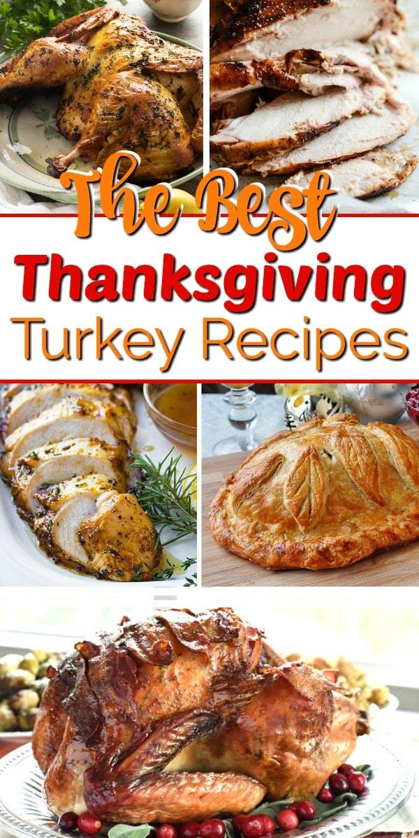 Thanksgiving turkey recipes pin