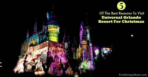 Visit Universal Orlando Resort for Christmas facebook