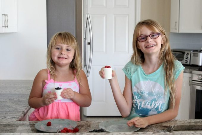 Kids love healthy snacks when we can make it fun for them