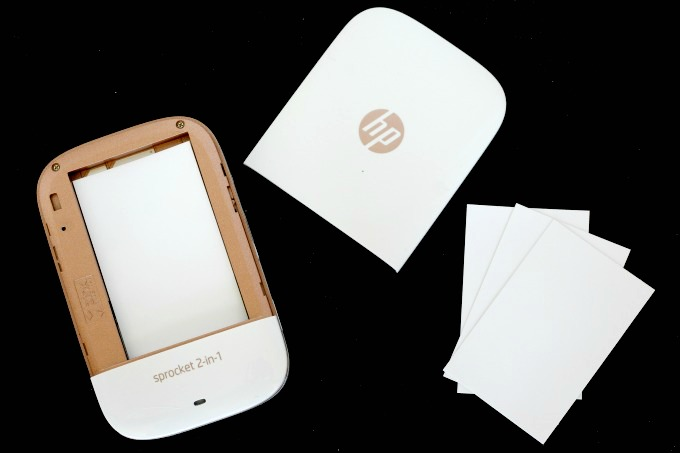 With the Sprocket 2-in-1, you can print pictures anywhere