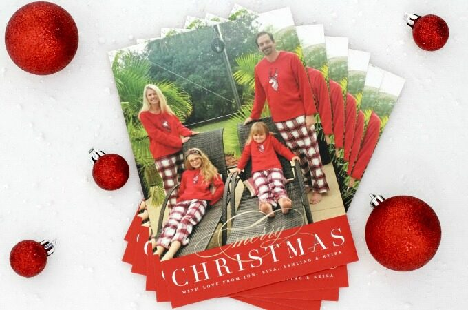 fun christmas card feature