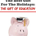 Trying to find the perfect gift for that special child in your life? Find out why the gift of education is the gift that lasts a lifetime.
