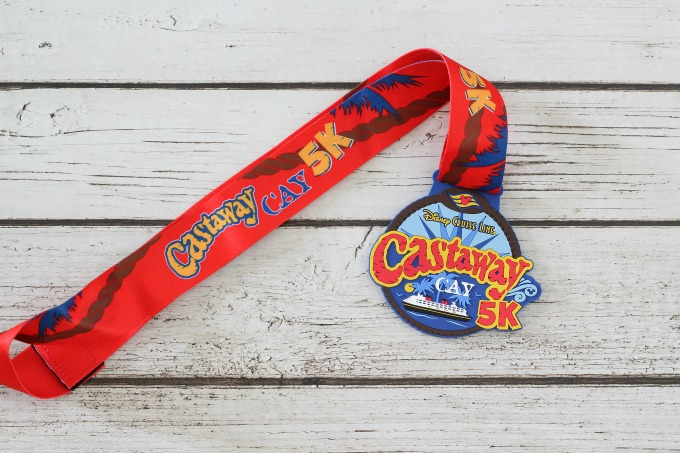 If you want a little exercise, sign up for Disney's Castaway Cay 5K run