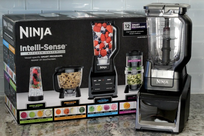 The Ninja Intelli-Sense Kitchen System with Auto-Spiralizer has everything you need for your kitchen
