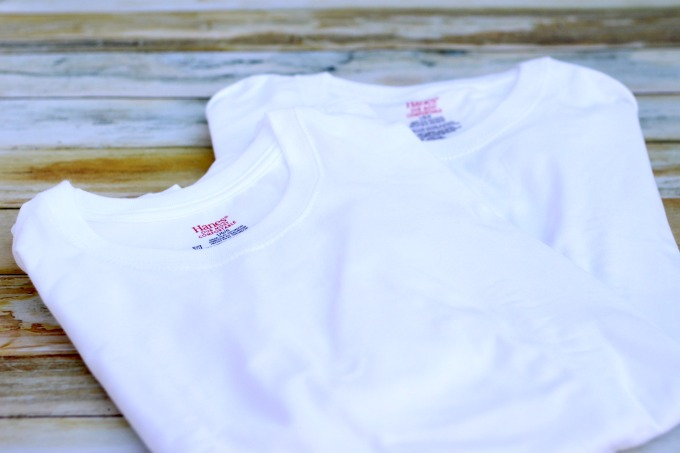 Another one of my practical stocking stuffer ideas are these t-shirts from Hanes