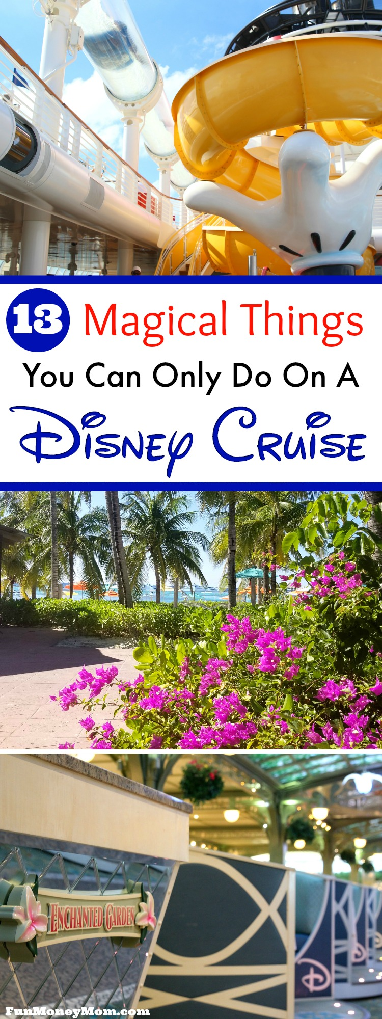 Thinking about a cruise vacation? Disney cruise lines goes above and beyond to be sure you have a magical vacation! Find out what you'll get on a Disney cruise that you won't get anyplace else.