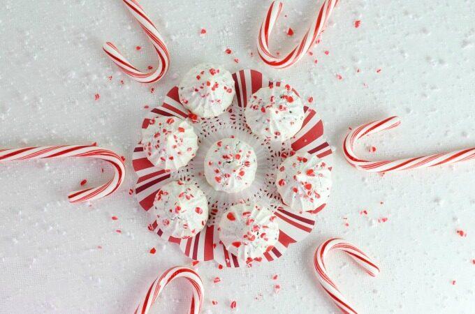 Mint Chocolate Meringue Cookies feature
