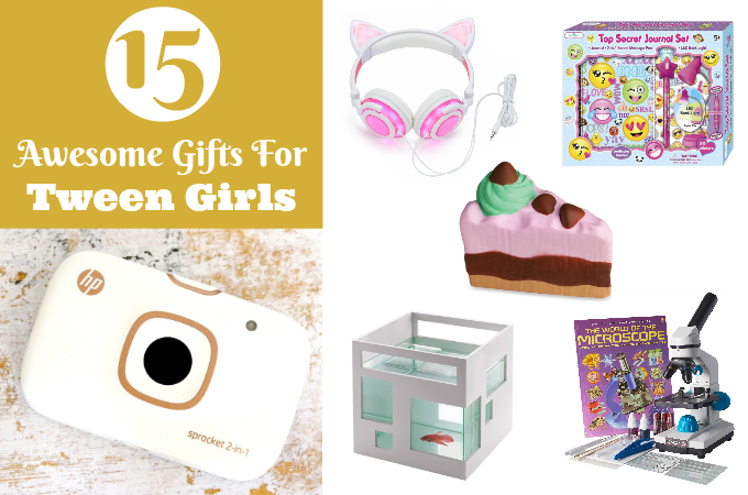 gifts for tween girls feature