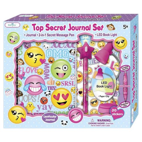 Gifts for tween girls #3: Top Secret Journal Set