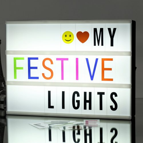 Gifts for tween girls #10: Light up message wall