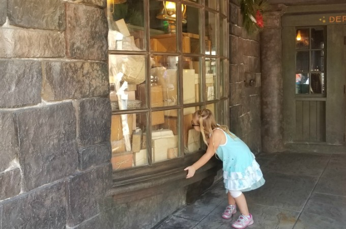 Harry Potter fans can look for surprises in the windows while visiting The Wizarding World Of Harry Potter at Universal Orlando Resort