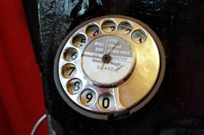 Harry Potter fans can call the Ministry Of Magic from a payphone in Universal Studios Orlando