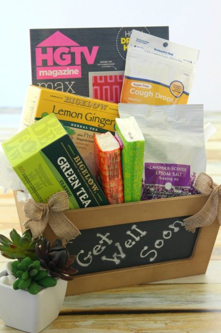 A Get Well Gift Basket would make anyone feel better