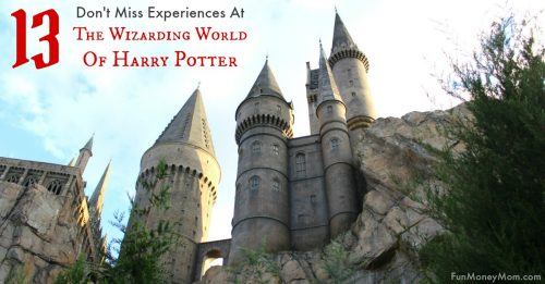 Experiences for Harry Potter Fans
