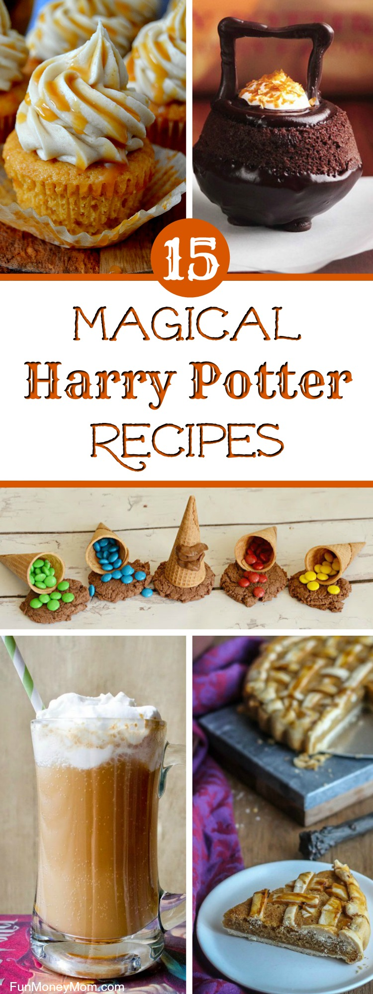 Having a Harry Potter party? You'll want to serve some magical Harry Potter recipes! These Harry Potter inspired foods are perfect for kid's birthday parties or even a Harry Potter movie night. From Butterbeer, Cauldron Cakes, Acid Pops and more, your little wizards will have everything they need for the perfect Harry Potter birthday!
