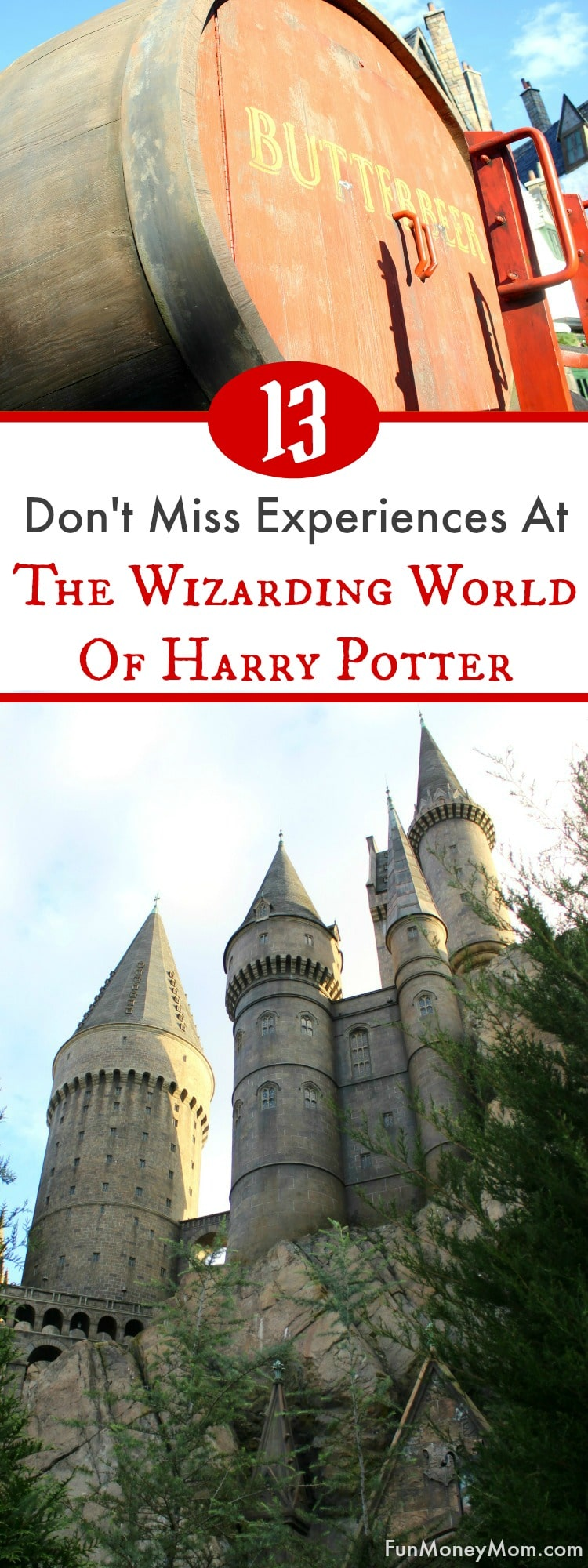 Heading to The Wizarding World Of Harry Potter at Universal Orlando Resort? Harry Potter fans won't want to miss these awesome experiences at Hogsmeade and Diagon Alley. Make your way from Islands Of Adventure to Universal Studios Orlando and feel like you've been transported into the Harry Potter books and movies! #UniversalPartner