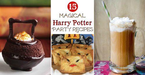 Harry Potter recipe post