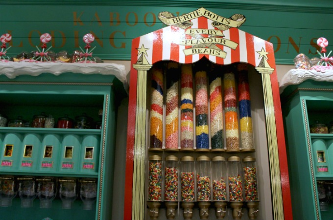 Head to Honeydukes in The Wizarding World Of Harry Potter to try Bertie Bott's candy from the books and movies.