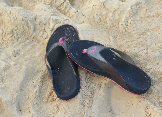 My new Kuru shoes were perfect for the theme parks and for the beach too