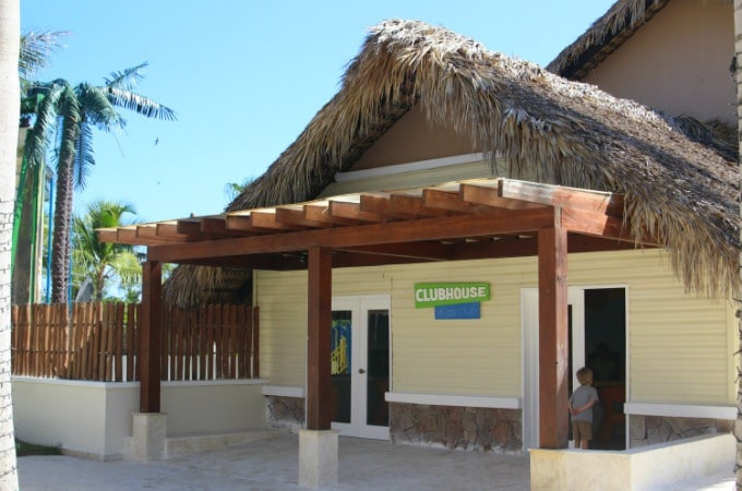 Little ones will love the kids club when they vacation at Memories Splash Punta Cana