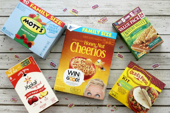 Box Tops are easy to collect when they come on so many yummy foods.