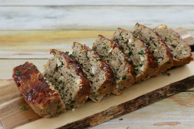 You won't have many leftovers when you serve this turkey meatloaf with spinach