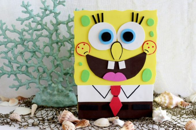 Sponge Box valentines box